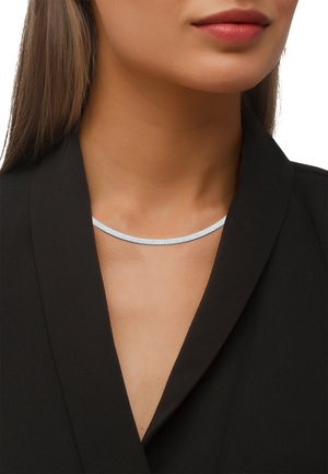 Collar - silberfarben poliert