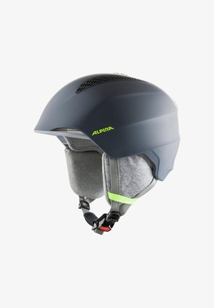 GRAND JR - Helmet - charcoal-neon yellow