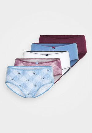 CHECK MIDI 5 PACK - Slip - multi
