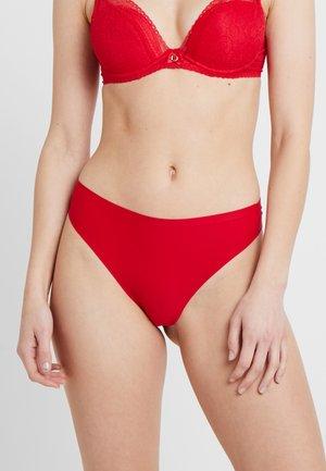 SOFT STRETCH - Thong - poppy red