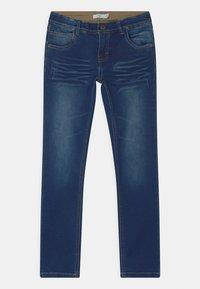 Name it - NKMROBIN  - Jeans straight leg - dark blue denim - 0
