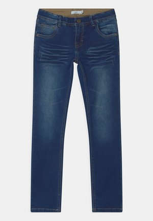 NKMROBIN  - Straight leg jeans - dark blue denim