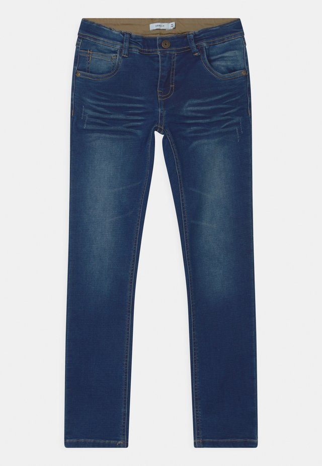 NKMROBIN  - Jeans Straight Leg - dark blue denim