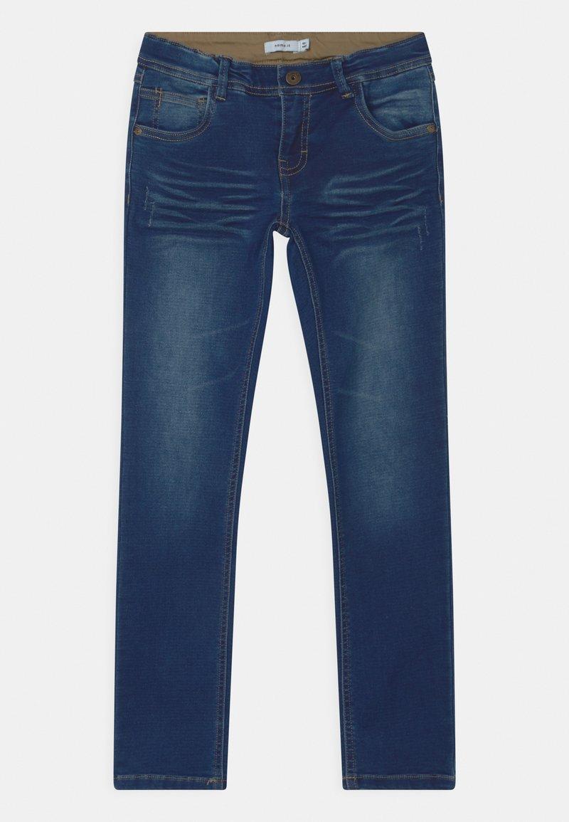 Name it - NKMROBIN  - Jeans straight leg - dark blue denim