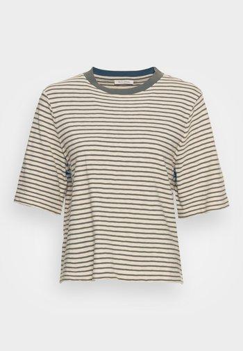 SLEEVE STRIPPED - Print T-shirt - multi