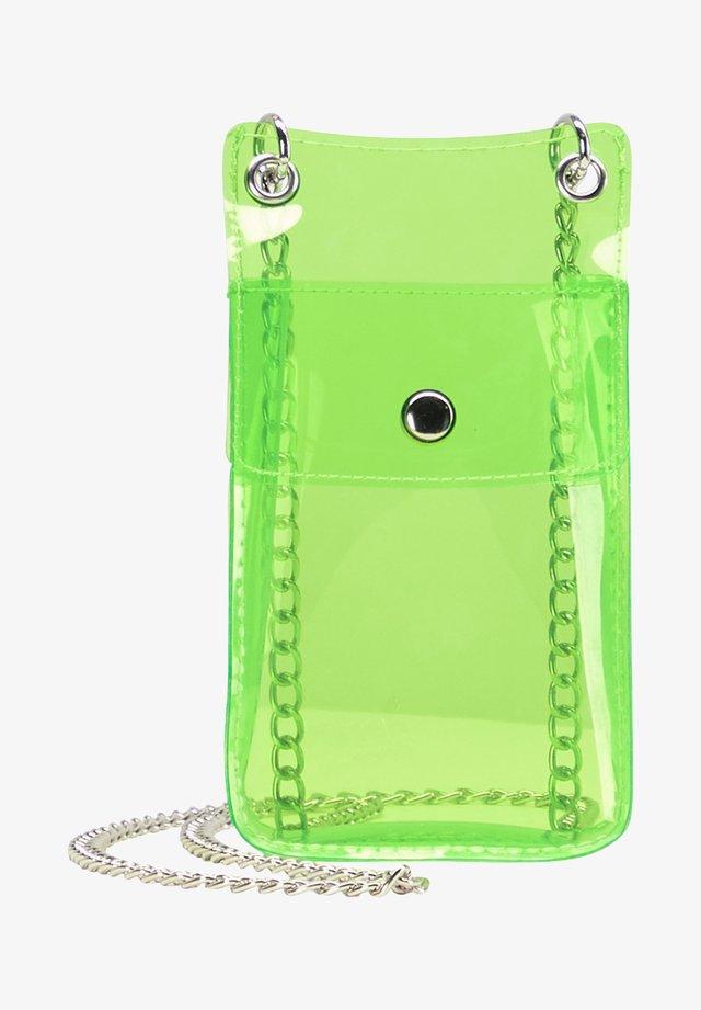 Schoudertas - neon green
