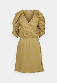 ROSANNE - Day dress - golden beige