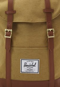 Herschel - RETREAT UNISEX - Rucksack - coyote slub - 3