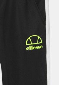 Ellesse - CALTANO UNISEX - Pantalones deportivos - black - 2