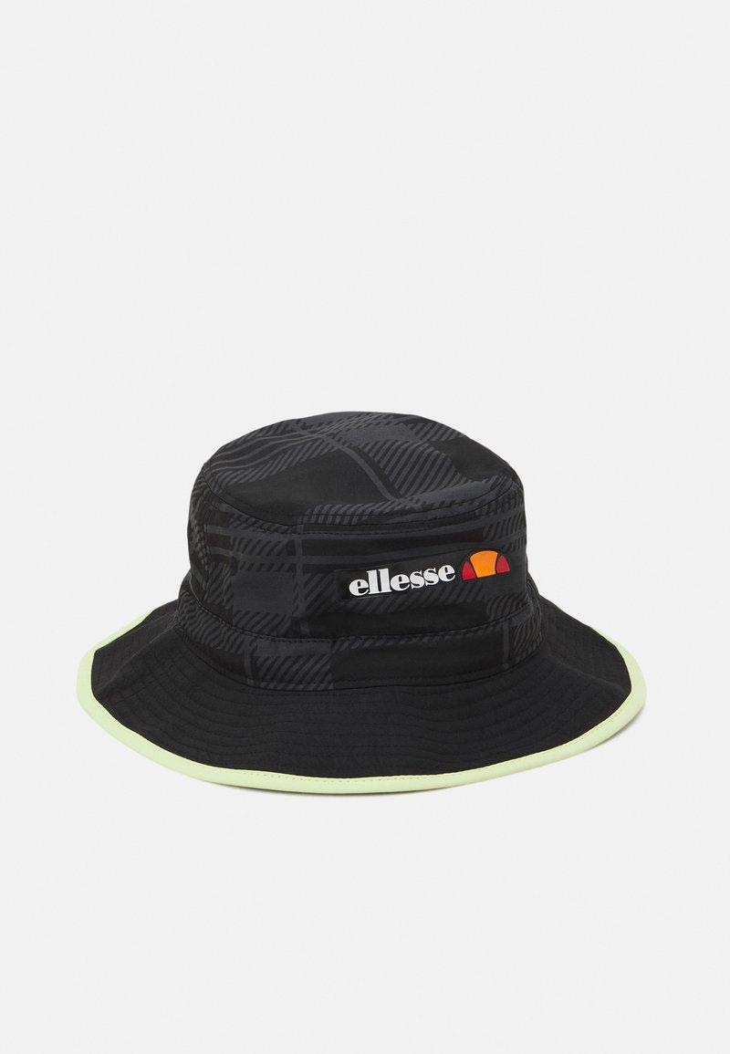 Ellesse - BORLIA BUCKET HAT UNISEX - Kapelusz - black