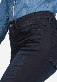G-Star - HIGH SKINNY - Jeans Skinny Fit - dark-blue denim - 3