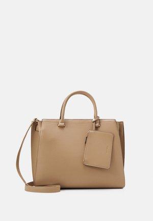 SET - Shopping bag - beige