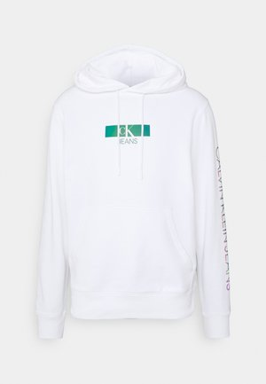 IRIDESCENT HOODIE UNISEX - Sweatshirt - bright white