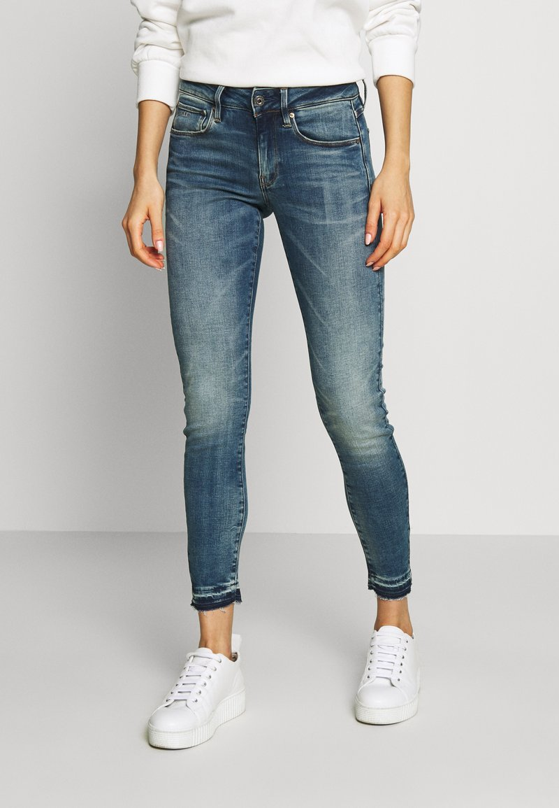 G-Star - MID SKINNY ANKLE - Jeans Skinny Fit - faded azurite