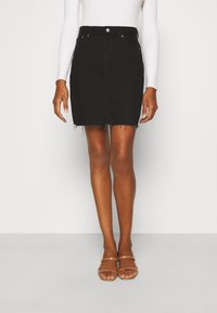 Dr.Denim Tall - MALLORY - Denim skirt - black - 0