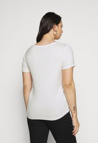Anna Field Curvy - 2 PACK  - Basic T-shirt - black / white - 3