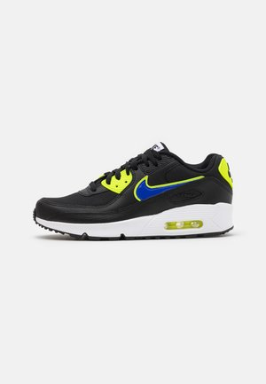 AIR MAX 90 UNISEX - Sneakersy niskie - black/racer blue/volt/vivid purple/white