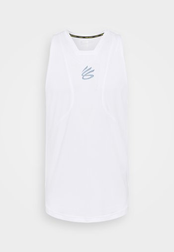 CURRY PERFORMANCE TANK - Top - white