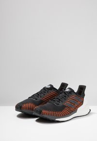 adidas Performance - SOLAR BOOST ST 19 - Stabilty running shoes - core black/grey five/solar orange - 2