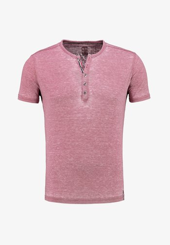 MT DIETER - Print T-shirt - red