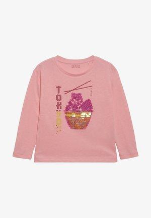 TEE - Long sleeved top - neon pink