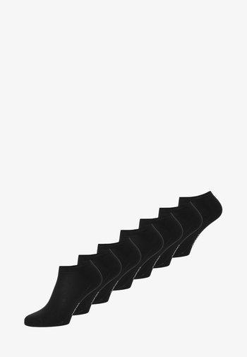 SOFT SNEAKER BOX 7 PACK - Strumpor - black