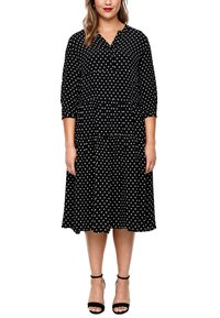 Triangle - MIT PUNKTEMUSTER - Jersey dress - black dots - 3