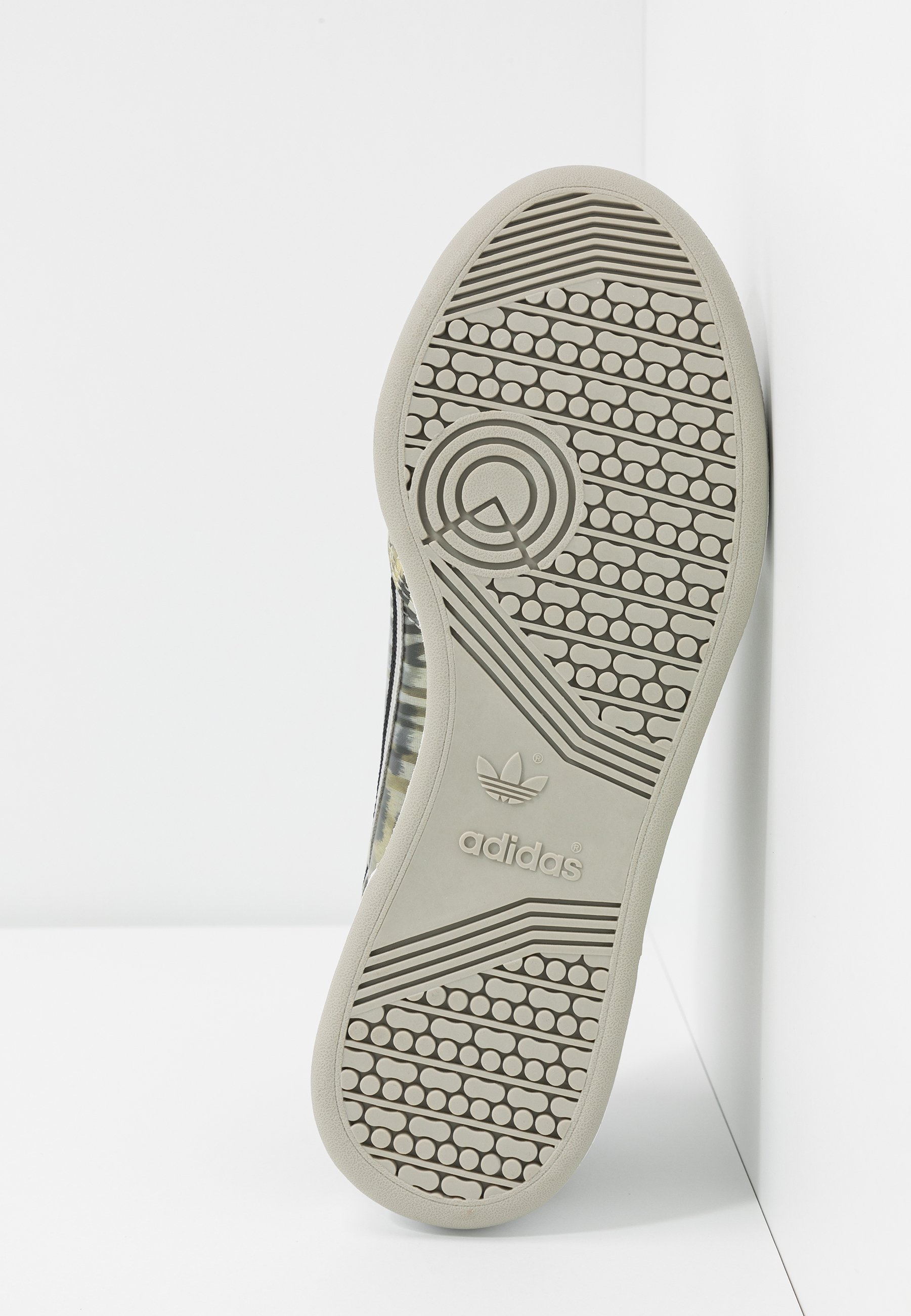 Adidas Originals Continental 80 - Sneakers Core Black/metallic Grey/signal Green