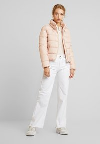 ONLY - ONLCAMMIE QUILTED JACKET - Light jacket - cameo rose - 1