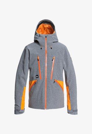 STRETCH FJORDR - Snowboard jacket - heather grey