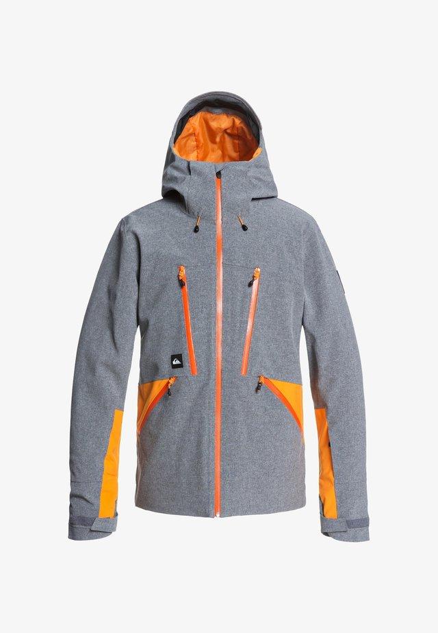 STRETCH FJORDR - Veste de snowboard - heather grey