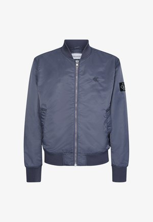 Blouson Bomber - abstract grey