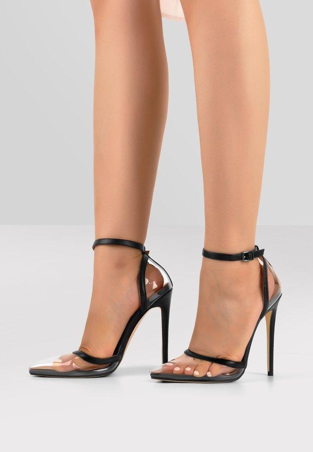 High heels - transparent