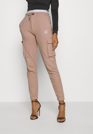 CARGO JOGGERS - Cargo trousers - rose