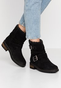 Superdry - HURBIS - Winter boots - black - 0