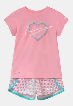 PIXEL POP SRINTER SET - Print T-shirt - pink/white