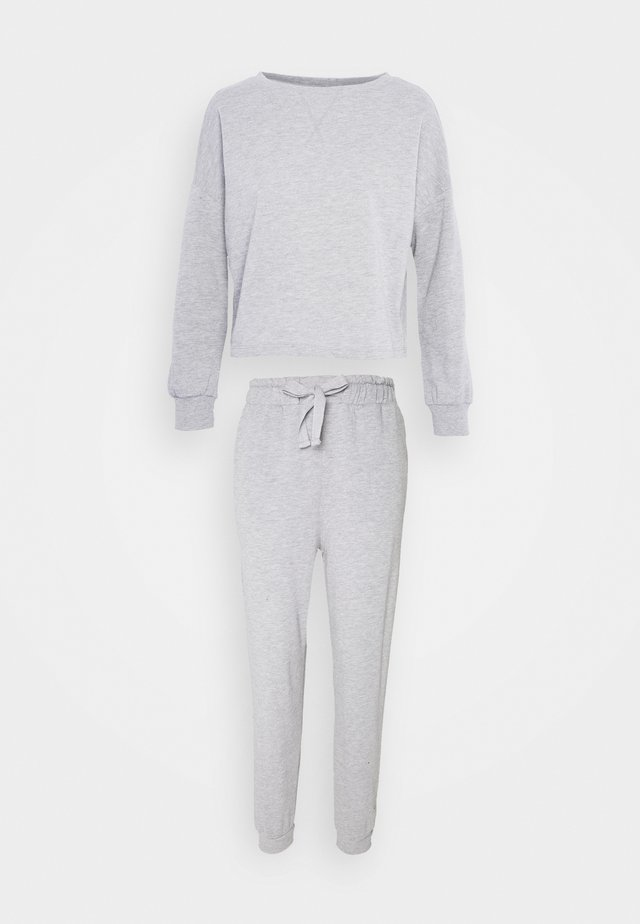 Pyjama - mottled light grey
