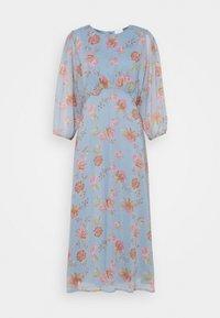 Vila - VIDIANELLA O NECK MIDI  DRESS - Cocktail dress / Party dress - ashley blue/pink - 0