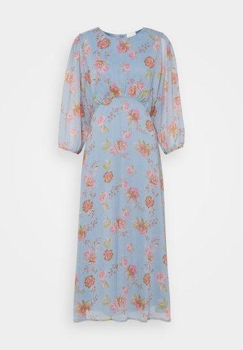 VIDIANELLA O NECK MIDI  DRESS - Cocktail dress / Party dress - ashley blue/pink
