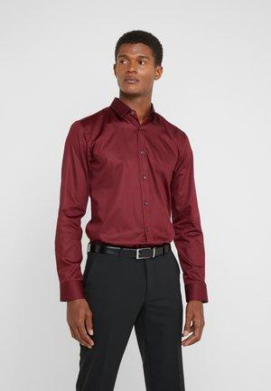 ELISHA EXTRA SLIM FIT - Camicia elegante - dark red