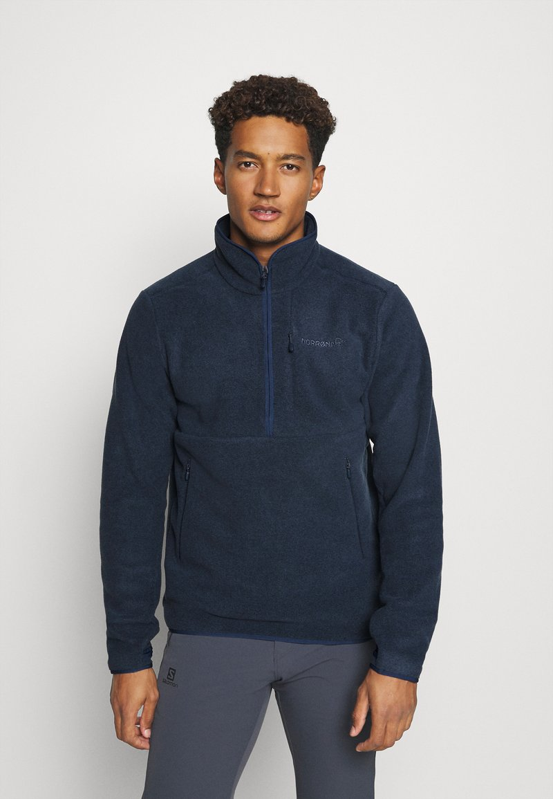 Norrøna - WARM HALFZIP  - Fleece jumper - grey