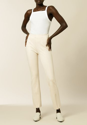 PHILIPPA - Spodnie materiałowe - vanilla cream
