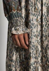Cream - MARLENE DRESS - Maxi dress - gunmetal - 4