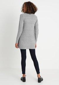 Zalando Essentials - Cardigan - mid grey melange - 2
