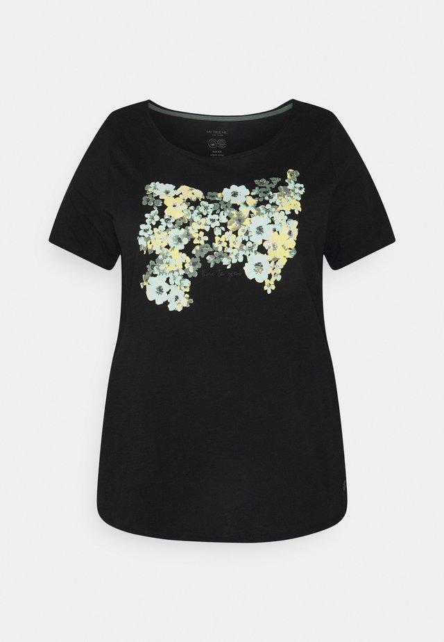 FRONT ARTWORK - Camiseta estampada - black