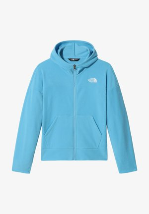 G GLACIER FULL ZIP HOODIE - veste en sweat zippée - ethereal blue