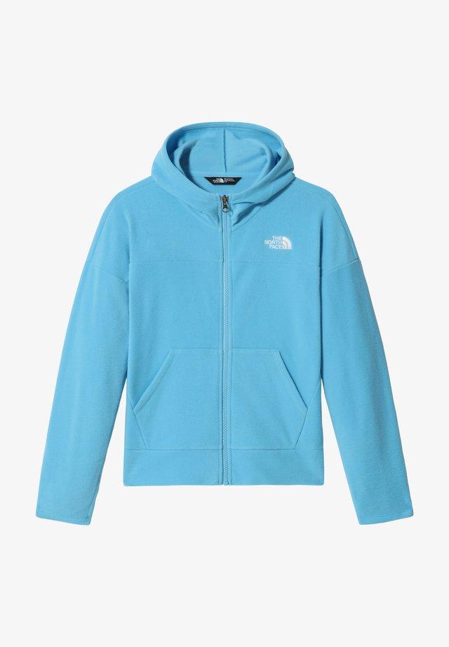 G GLACIER FULL ZIP HOODIE - Zip-up hoodie - ethereal blue