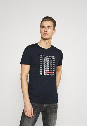 CREWNECK - T-shirt print - sky captain blue