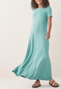 Next - COLUMN  - Maxi dress - teal - 0