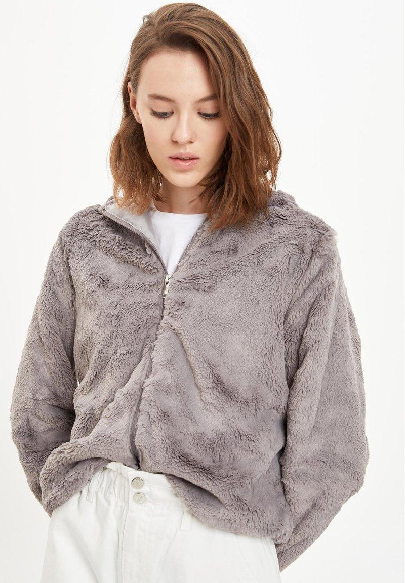 DeFacto - Winter jacket - grey